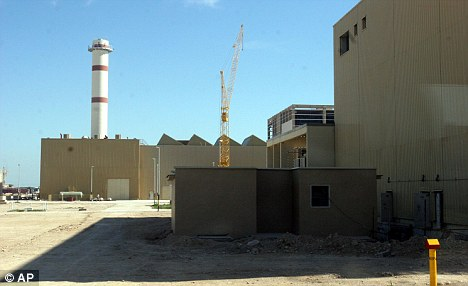 Secrets: The five had all worked on Iran's Bushehr nuclear power plant project, which the international community fear could be used to covertly build nuclear weapons