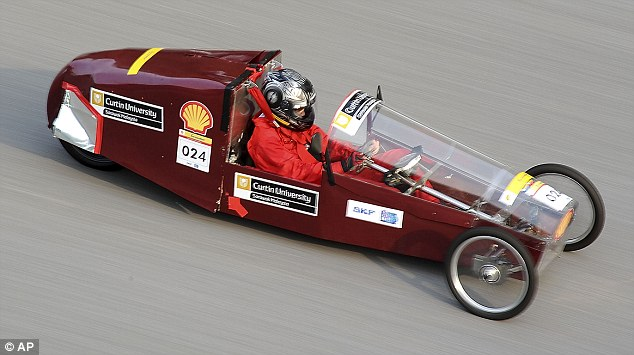This driver from Malaysia pushes his vintage creation to the maximum Kuala Lumpur's Sepang International Circuit