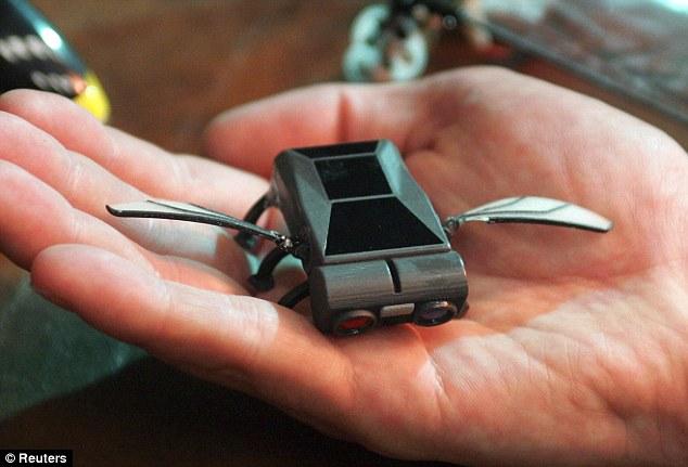 micro uav bug drone