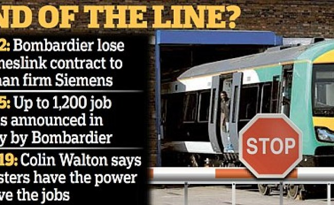 Bombardier Could Still Win Thameslink Stock Contract