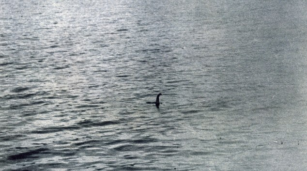 Mythical: The Loch Ness Monster has had many sightings in the Scottish Highlands including this picture taken in 1934 allegedly showing the creature