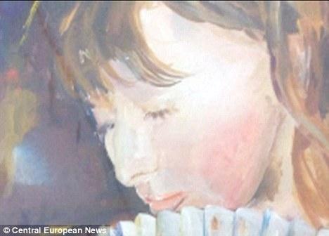 Pintura: Desde que se despertó de su coma Taisia ha descubierto una nueva habilidad artística