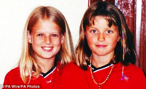 Victims: Holly Wells (left) and her best friend, Jessica Chapman (right), both 10, were murdered by Ian Huntley