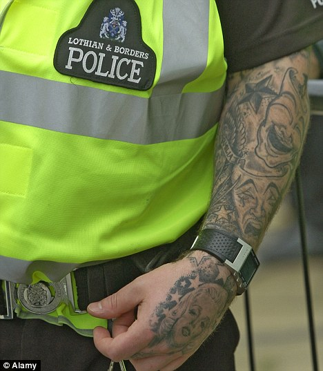 Generational change in the social acceptability of tattoos for Tattoos in the british army