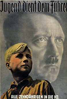 Flashback: The summer camps are reminiscent of the Hitler Youth events held in the 1930s