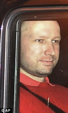 Norway's twin terror attacks suspect Anders Behring Breivik