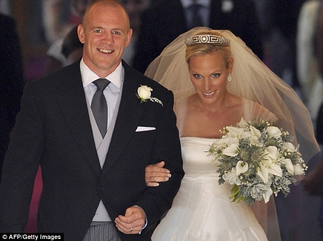 Zara Phillips wedding Beatrice Eugenie and Prince Harry
