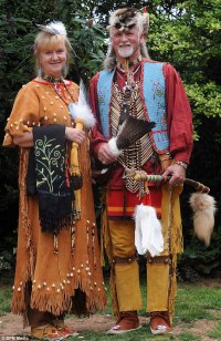 John Jerzyszek and wife Pauline live as native American ...