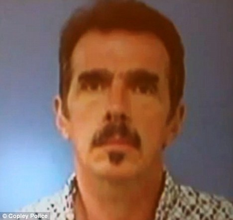 Killer: Michael Hance is the man police say shot his longtime girlfriend before killing seven people and dying in a shootout with police