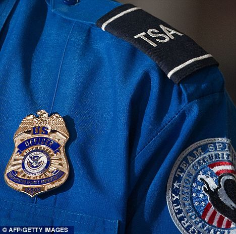 Accused: The TSA stand accused of racial profiling after reports two black women had their hair searched by agents, while white women with large hair were not