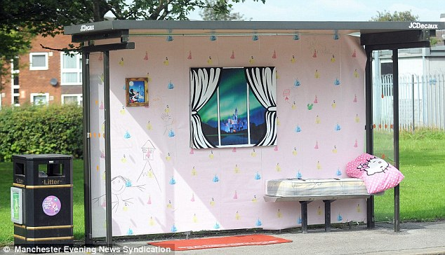 Manchester Bus Stops Transformed Into Miniature Homes By