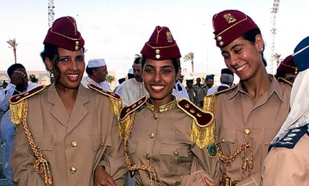 Beautiful, and trained to kill: Libyan Popular Guards