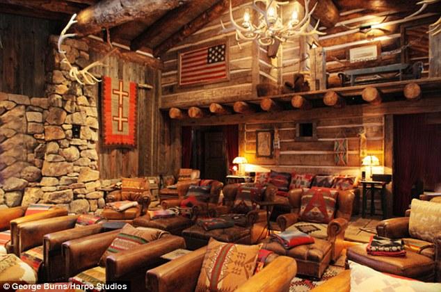 Ralph Lauren's Log Cabin.  O.M.G.