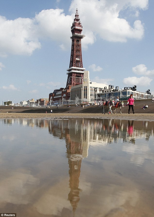 Iconic: The refurbished Blackpool Tower restores a famous landmark to fully functioning duty as part of the council's regeneration plan for Blackpool