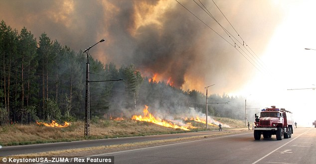 Russia: Some 300 wildfires burned as the heatwave caused by the Rossby Wave created tinderbox conditions