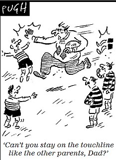 Rugby blows the whistle on touchline tantrums of parents