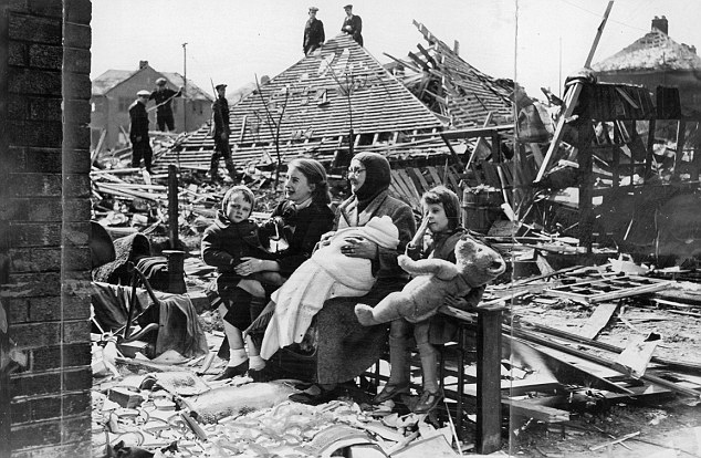 The squalor of World War II from London to Leningrad told
