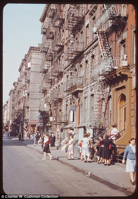 On New York's lower East Side. Sep. 27, 1941