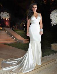 Kim Kardashian dons wedding dress number 2 at reception ...