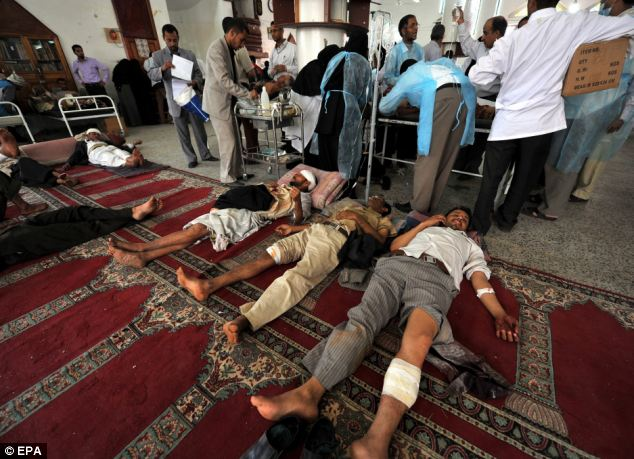 Yemen protests Death toll doubles to more than 50 as
