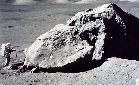 Missing Apollo 17 moon rock worth 10m found in Bill