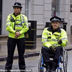 Wheelchair Fight Papasan Chair Target Confined To A But Plucky Pc Rob Stays On The Front Line New Role Pedley Duty With Another Officer In Birmingham Last Week