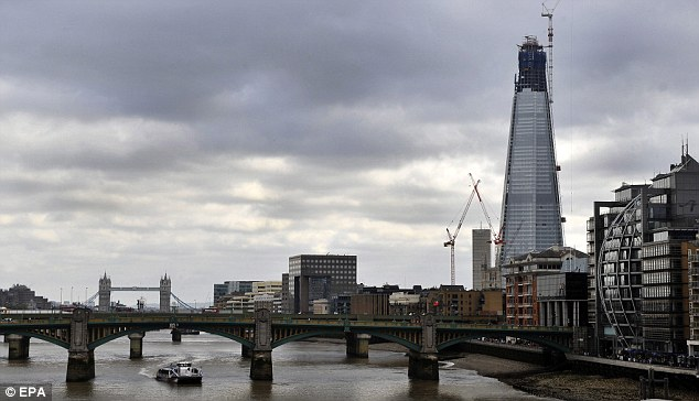 Highest Ever Crane Installed In London As Work Begins To