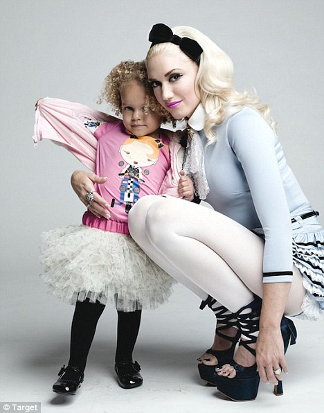 Gwen Stefani's Harajuku Mini collection for Target