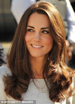 Britain's Catherine, the Duchess of Cambridge