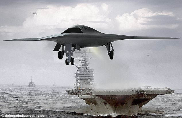 Navy S First Unmanned Stealth Drone X 47b One Step Closer