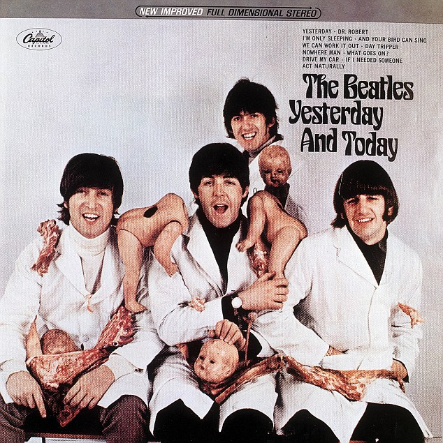 Controversial: Whitaker photographed The Beatles for their album Yesterday And Today but the cover was replaced shortly after the record was released