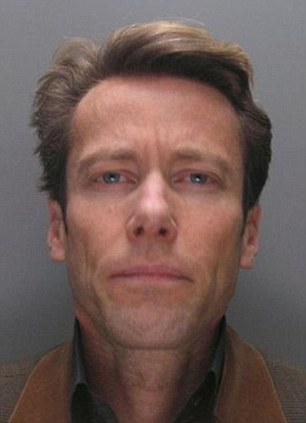 Edward Davenport in his police mugshot