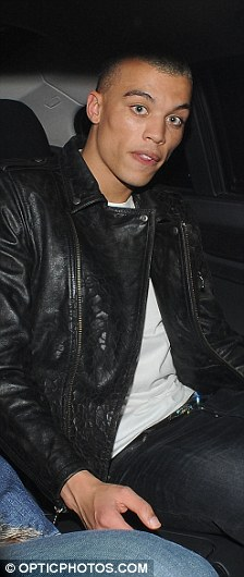 Good night, then? Rihanna is full of smiles as she rides home from Mahiki with new beau Dudley O'Shaughnessy