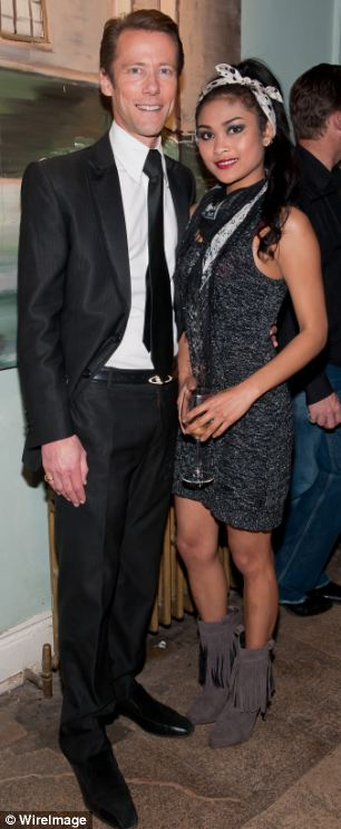 Lord fraud: Eddie Davenport with girlfriend Monthira Sanan-Ua