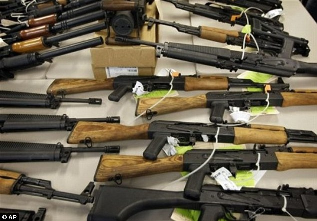 Gunrunners: Some 1,400 of the 2,000 guns lost in Operation Fast and Furious are yet to be recovered