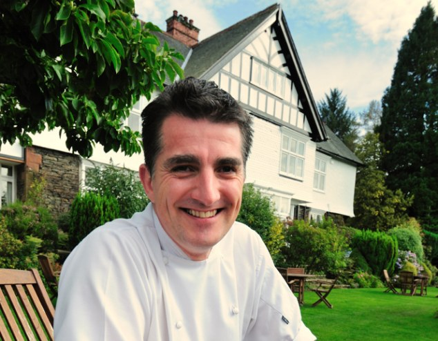 The chef: Marc Guibert, who works at Lindeth Howe Country House Hotel in Windermere