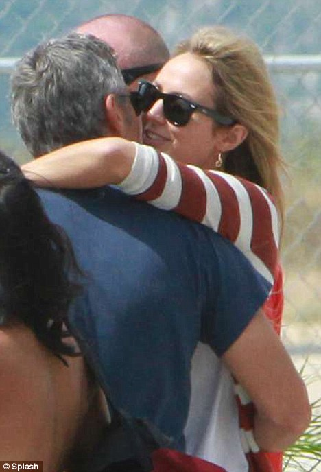 Romantic moment: The actor has whisked Stacy away to Mexico to celebrate her 32nd birthday on October 14