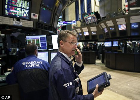 Set back: Another 10,000 jobs are set to be lost in New York's securities industry
