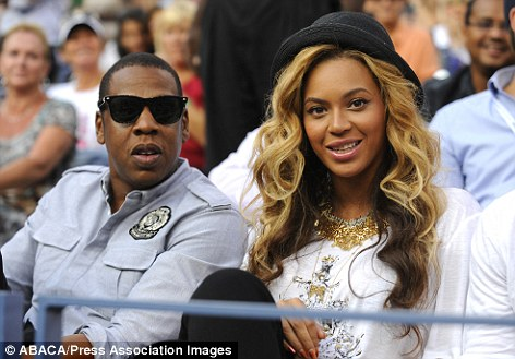 Keeping mum: Beyonce and Jay Z already know the sex of the child but in true Hollywood fashion, they are keeping the information to themselves