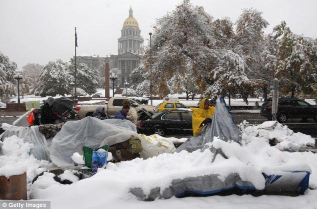 SNOWSCENE: Las autoridades darán la bienvenida a la previsión del tiempo dramático