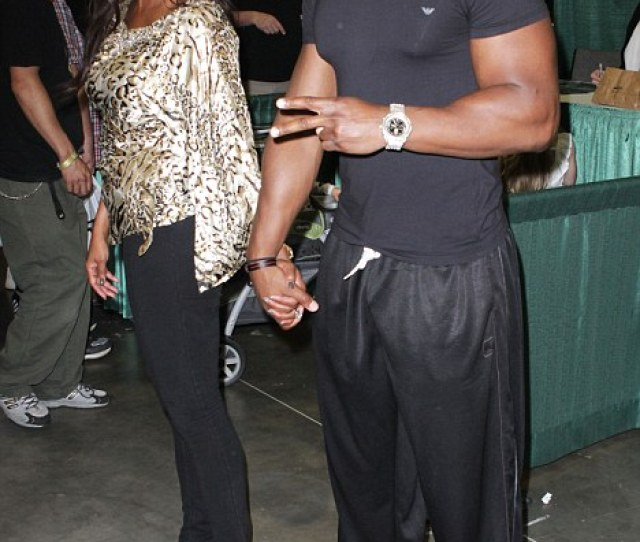 Happy Then Vivica A Fox And Her Fiance Looked The Picture Of Happiness At