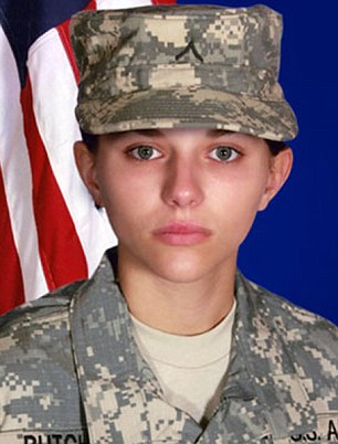 Private First Class Sarina Butcher, 19, of Checotah. she was assigned to the 700th Brigade Support Battalion, 45th Infantry Brigade Combat Team based in Tulsa.