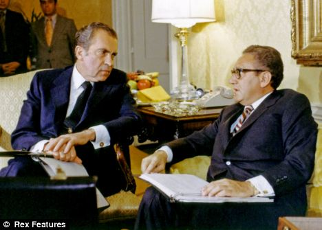 Image result for Nixon- Kissinger