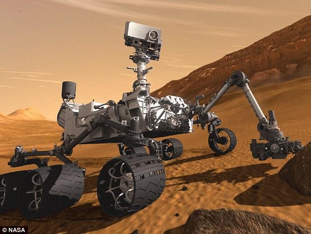 NASA Rover Curiosity- Nader Nazemi