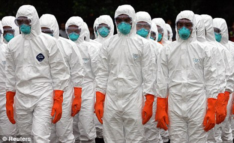 Dangerous: It is feared if new details of the avian flu is published, it could be used for bioterrorism