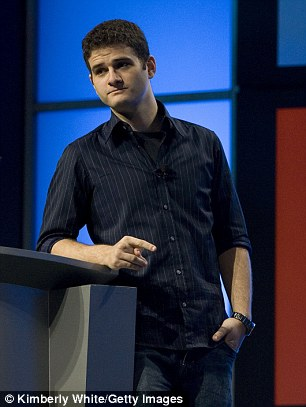 A co-founder who left the company in 2008, he holds a 6% share in Facebook