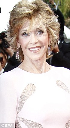 Wearing heavy earrings - like Jane Fonda - can cause the lobes to droop