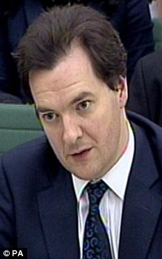 Sticking to Plan A: George Osborne refuses to borrow in order to cut taxes