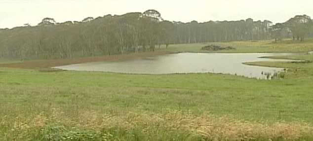 National park: Nowendoc, north west of Dubbo, in New South Wales, where Naden had been hiding out
