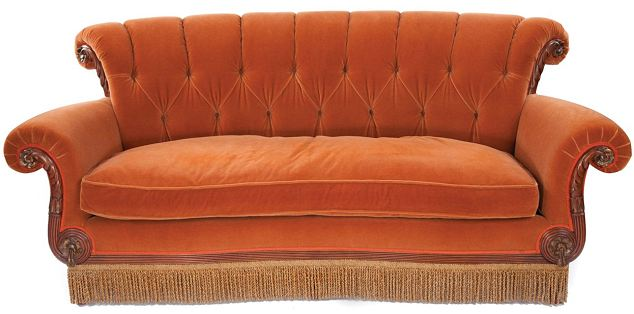 Friends' Central Perk Coffee Shop Sofa Goes Under The Hammer